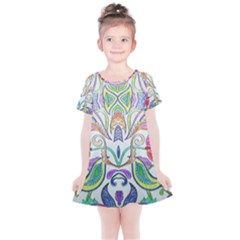 Wallpaper Created From Coloring Book Kids  Simple Cotton Dress