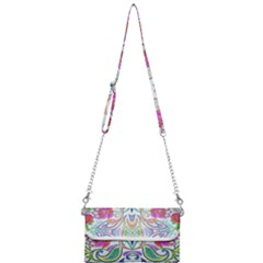 Wallpaper Created From Coloring Book Mini Crossbody Handbag by Jojostore