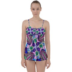 Wallpaper Created From Coloring Book Babydoll Tankini Set