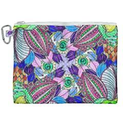 Wallpaper Created From Coloring Book Canvas Cosmetic Bag (xxl) by Jojostore