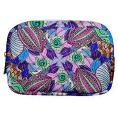 Wallpaper Created From Coloring Book Make Up Pouch (small) by Jojostore