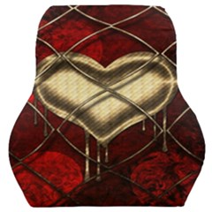 Love Hearth Background Scrapbooking Paper Car Seat Back Cushion
