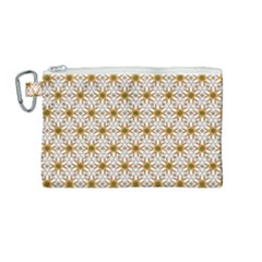 Seamless Wallpaper Background Canvas Cosmetic Bag (medium)