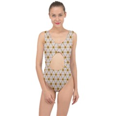 Seamless Wallpaper Background Center Cut Out Swimsuit