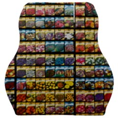 Flower Seeds For Sale At Garden Center Pattern Car Seat Velour Cushion