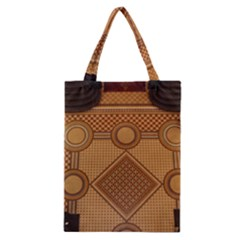 The Elaborate Floor Pattern Of The Sydney Queen Victoria Building Classic Tote Bag by Jojostore