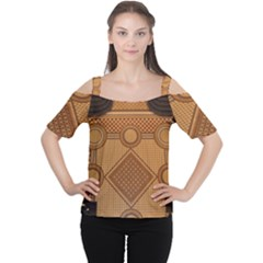 The Elaborate Floor Pattern Of The Sydney Queen Victoria Building Cutout Shoulder Tee by Jojostore