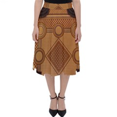 The Elaborate Floor Pattern Of The Sydney Queen Victoria Building Classic Midi Skirt by Jojostore