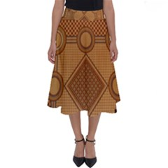 The Elaborate Floor Pattern Of The Sydney Queen Victoria Building Perfect Length Midi Skirt by Jojostore