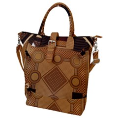 The Elaborate Floor Pattern Of The Sydney Queen Victoria Building Buckle Top Tote Bag
