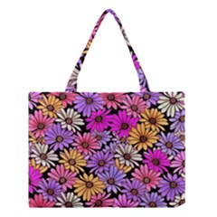 Floral Pattern Medium Tote Bag by Jojostore