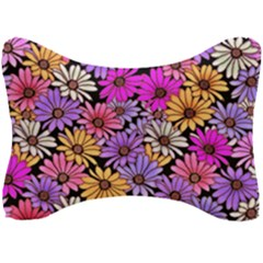 Floral Pattern Seat Head Rest Cushion