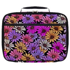 Floral Pattern Full Print Lunch Bag by Jojostore