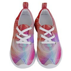 Background Nebulous Fog Rings Running Shoes