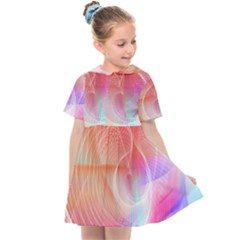 Background Nebulous Fog Rings Kids  Sailor Dress by Jojostore