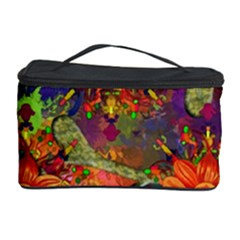 Abstract Flowers Floral Decorative Cosmetic Storage by Jojostore
