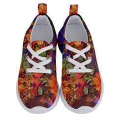 Abstract Flowers Floral Decorative Running Shoes by Jojostore