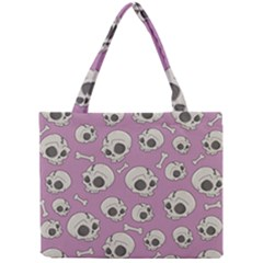 Halloween Skull Pattern Mini Tote Bag