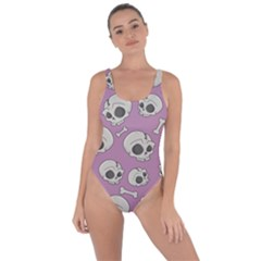 Halloween Skull Pattern Bring Sexy Back Swimsuit