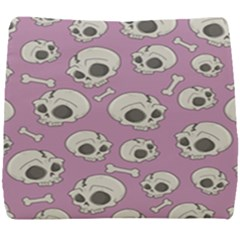 Halloween Skull Pattern Seat Cushion