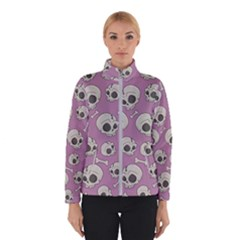 Halloween Skull Pattern Winter Jacket