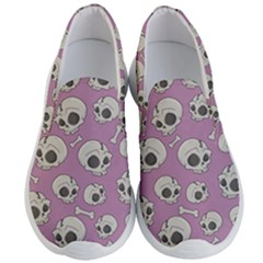 Halloween Skull Pattern Men s Lightweight Slip Ons