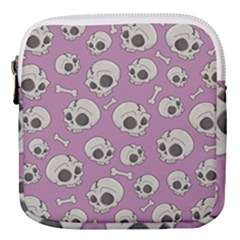 Halloween Skull Pattern Mini Square Pouch