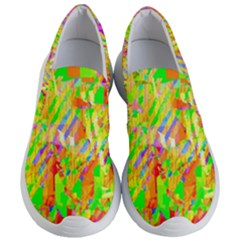 Cheerful Phantasmagoric Pattern Women s Lightweight Slip Ons