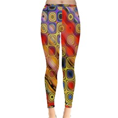 Background Texture Pattern Inside Out Leggings