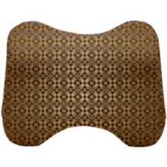 Background Seamless Repetition Head Support Cushion