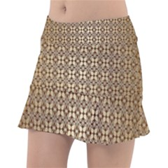 Background Seamless Repetition Tennis Skirt
