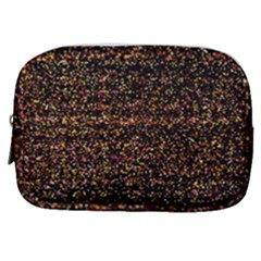 Colorful And Glowing Pixelated Pattern Make Up Pouch (small) by Jojostore