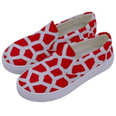 Animal Animalistic Pattern Kids  Canvas Slip Ons by Jojostore