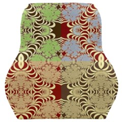 Multicolor Fractal Background Car Seat Back Cushion  by Jojostore