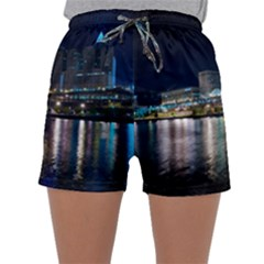Cleveland Building City By Night Sleepwear Shorts