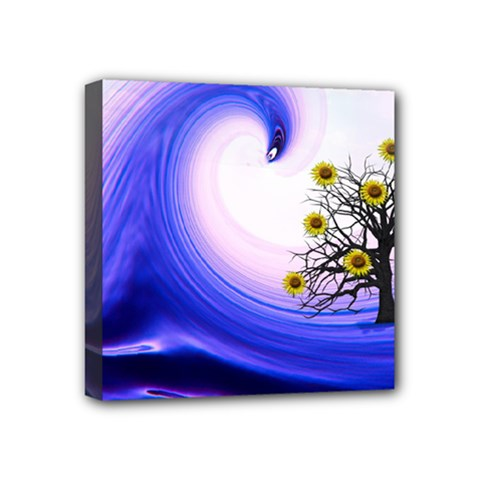 Composing Nature Background Graphic Mini Canvas 4  X 4  (stretched) by Sapixe