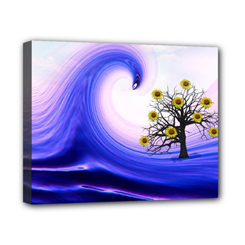 Composing Nature Background Graphic Canvas 10  X 8  (stretched) by Sapixe