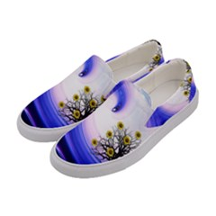 Composing Nature Background Graphic Women s Canvas Slip Ons by Sapixe