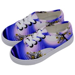 Composing Nature Background Graphic Kids  Classic Low Top Sneakers by Sapixe