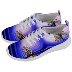 Composing Nature Background Graphic Men s Lightweight Sports Shoes by Sapixe
