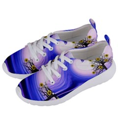 Composing Nature Background Graphic Women s Lightweight Sports Shoes by Sapixe