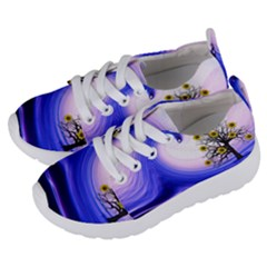 Composing Nature Background Graphic Kids  Lightweight Sports Shoes by Sapixe