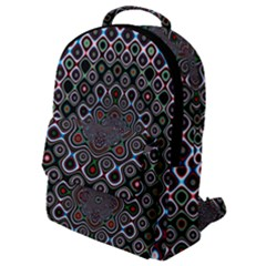 Digital Art Background Design Flap Pocket Backpack (small) by Sapixe