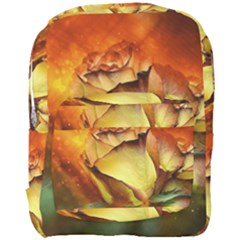 Rose Flower Petal Floral Love Full Print Backpack