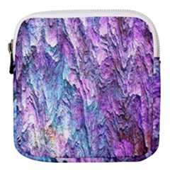 Background Peel Art Abstract Mini Square Pouch