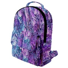 Background Peel Art Abstract Flap Pocket Backpack (small) by Sapixe