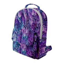 Background Peel Art Abstract Flap Pocket Backpack (large)
