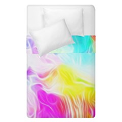 Background Drips Fluid Colorful Duvet Cover Double Side (single Size) by Sapixe