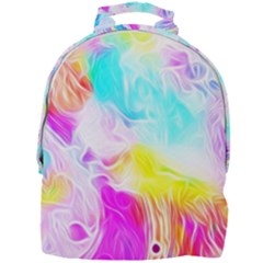 Background Drips Fluid Colorful Mini Full Print Backpack