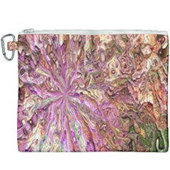 Background Swirl Art Abstract Canvas Cosmetic Bag (xxxl) by Sapixe